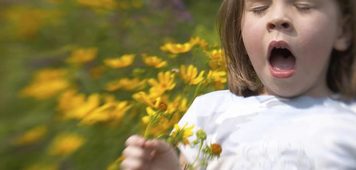 Jaro a alergie
